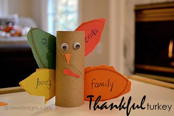 Thankful Turkey Kids Craft