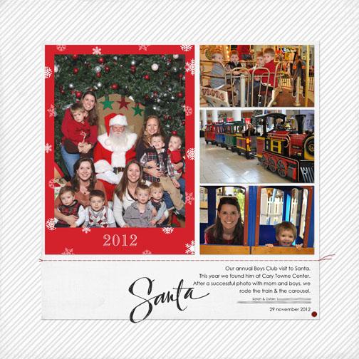 Santa Photo 2012