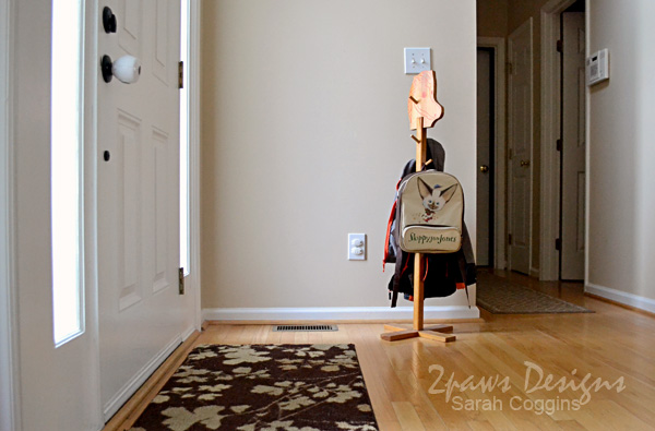 Foyer Entry: Horse Coat Rack