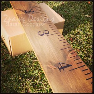 Ruler Growth Chart In Progress