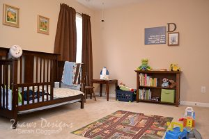 Toddler Room: Bed & Bookcase