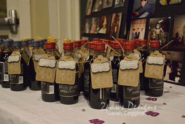 Small Wine Bottle Party Favors
