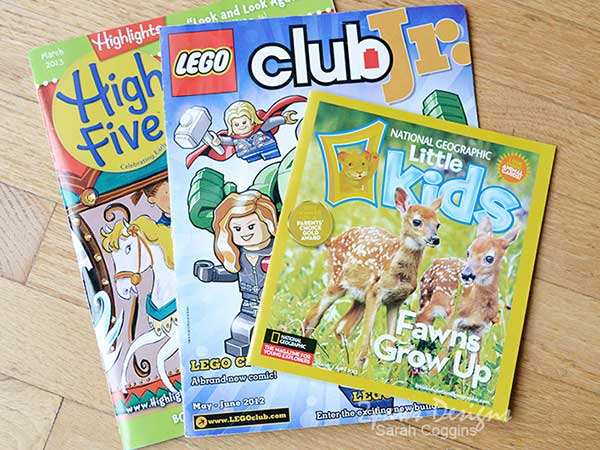 Travel Entertainment for Kids: Books & Magazines