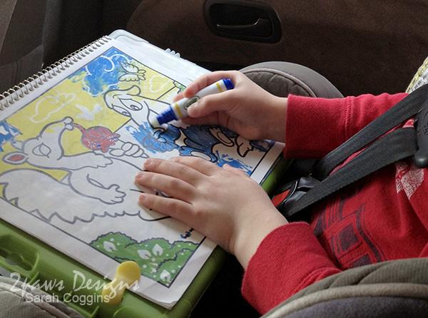 Travel Entertainment for Kids: Crayola Color Wonder