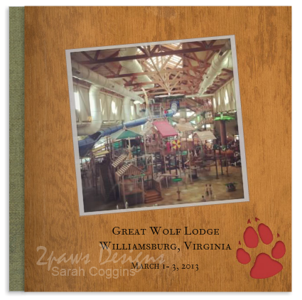 Great Wolf Lodge photo book