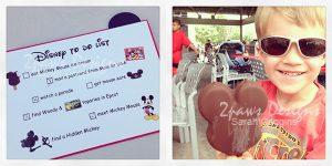 Disney with a Preschooler: To Do List