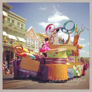 WW: Disney - Celebrate A Dream Come True parade