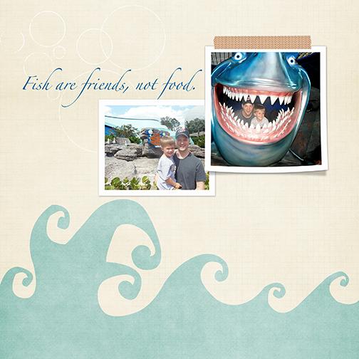 The Seas with Nemo - Disney 2013: Fish are Friends