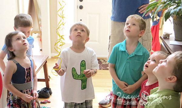 Four-esta Party: '4' Cactus Shirt