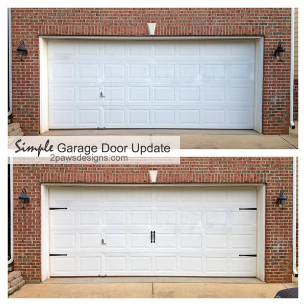 Updating The Garage Door 2paws Designs