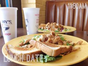 Lunch date. #weekinthelife