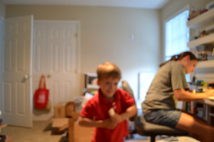 Silliness with the self timer. Wish this had been in focus. #weekinthelife