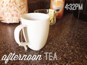 Afternoon tea. #weekinthelife