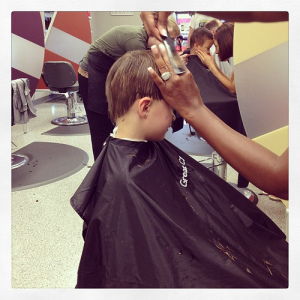 Haircuts for the boys. #weekinthelife #latergram
