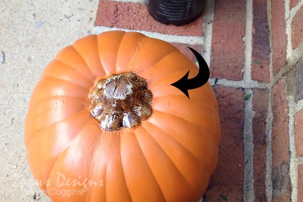 Pumpkin Mums: Mark Cut Lines