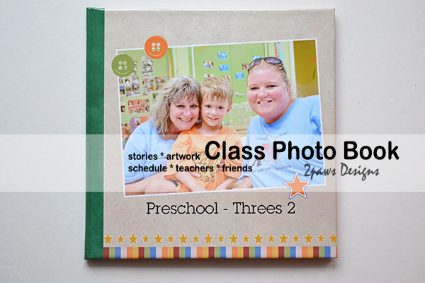 Threes Class Photo Book: Cover