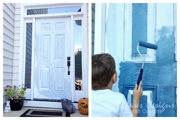 Front Door: Painting Progress