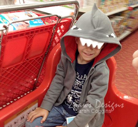 Sharknado Shark Costume