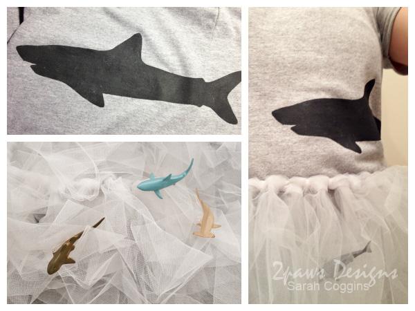 Sharknado Costume details