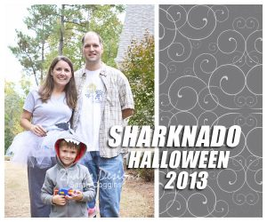 Sharknado Family Costumes