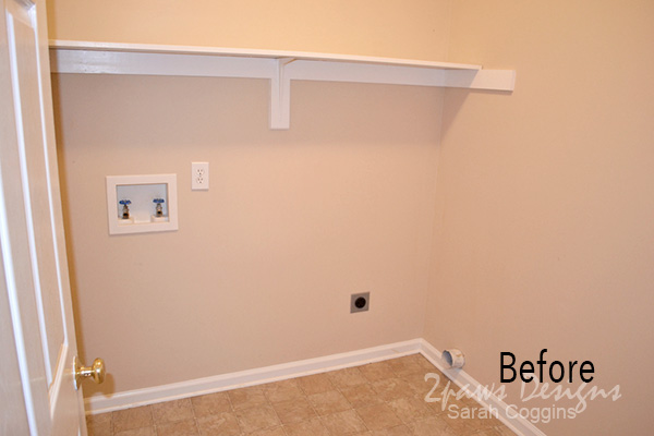 Laundry Room: Before