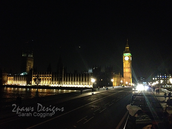 Houses of Parliament at Night, London
