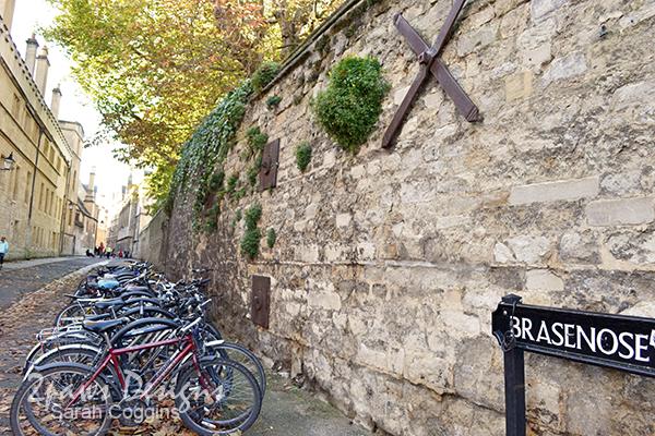 Brasenose Lane, Oxford, UK