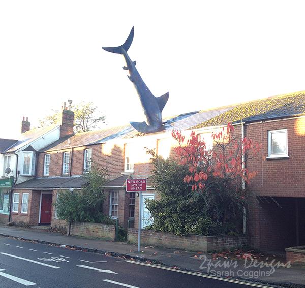 The Headington Shark House, Oxford, UK