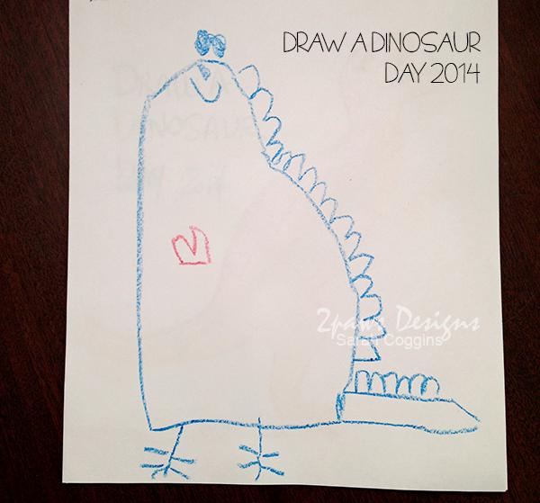 Draw A Dinosaur Day 2014