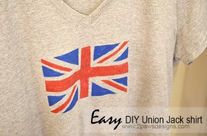 DIY Union Jack Shirt