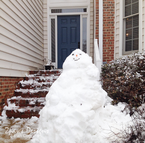 Wordless Wednesday: Snow Jabba