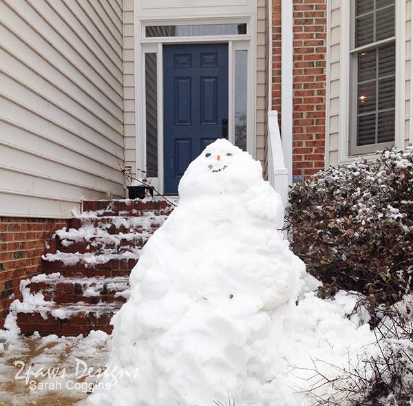 Wordless Wednesday: Snow Jabba