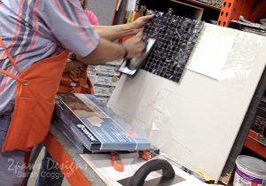 Home Depot Do-It-Herself Tiling Class