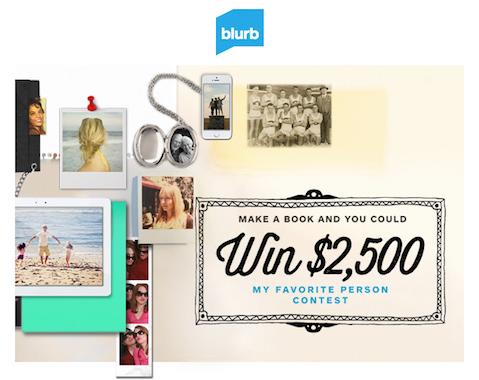 Blurb: My Favorite Person Contest
