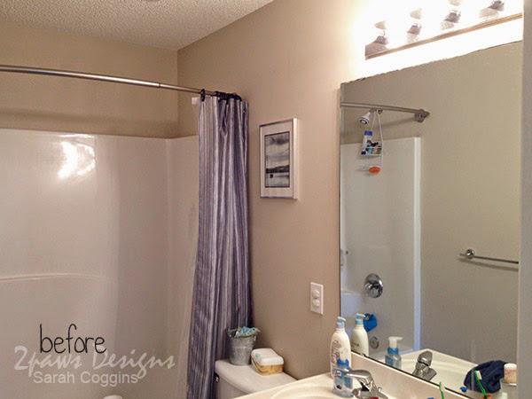 Hall Bath: Before