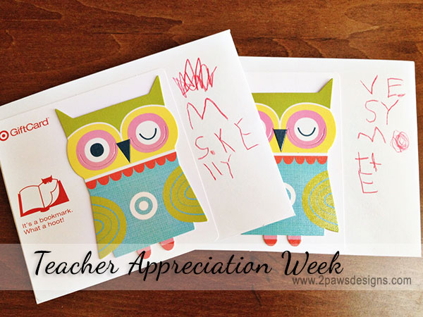 Teacher Appreciation Week: DIY Cards