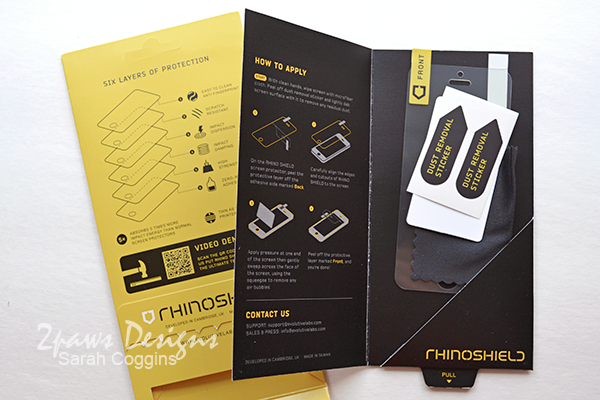 RhinoShield: Package Contents