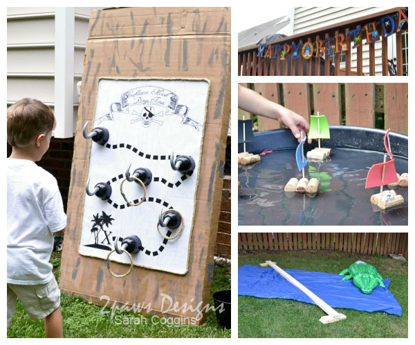 Pirate Birthday Party: Activities