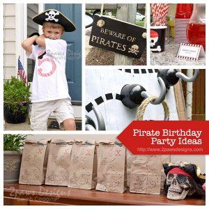 Pirate Birthday Party Ideas