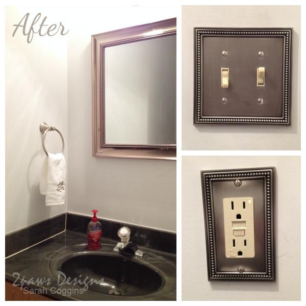 1980s Half Bathroom: After