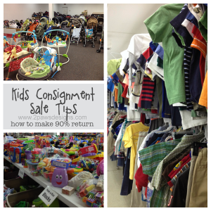Kids' Consignment Sale Tips
