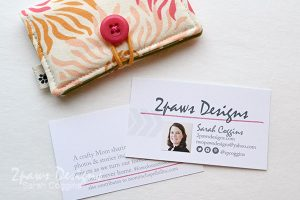 Fabric Business Card Holder