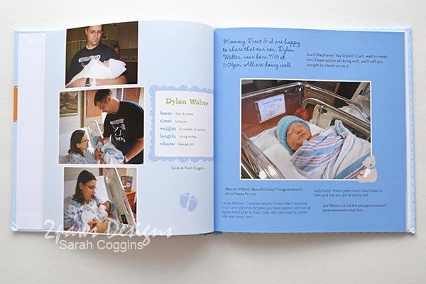 First Month Photo Book: Birth