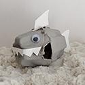Shark Week: Egg Carton Shark