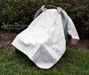 Hummingbird Infant Car Seat Cover