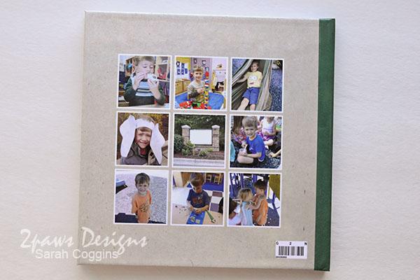 Preschool Fours Photo Book: Back Cover