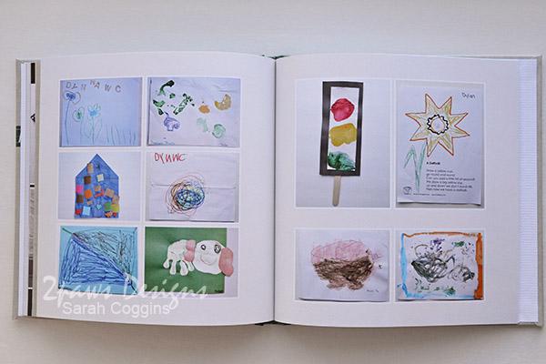 Preschool Fours Photo Book: Art Collage