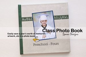 Preschool Fours Photo Book: Front Cover