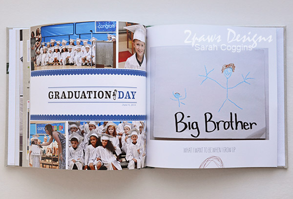 Preschool Fours Photo Book: Graduation
