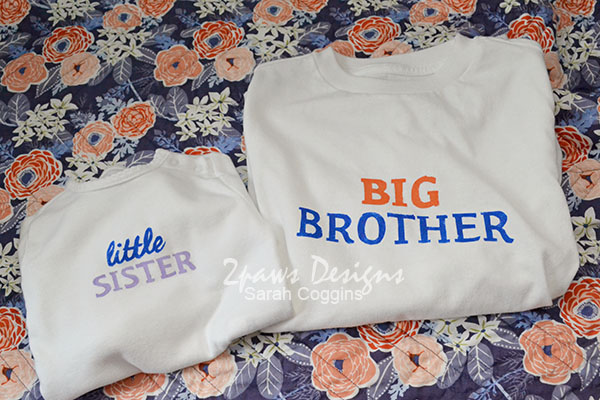 Big Brother & Little Sister Shirts